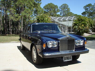 1973 Rolls-Royce Silver Shadow 4 Door Sedan AWESOME SILVER SHADOW IN NAPLES FLORIDA