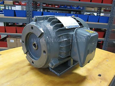 Chyun Tseh AC Electric Motor 1HP 3 Phase NEW SK832605-12