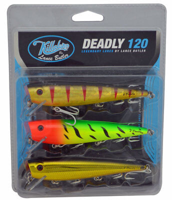 Killalure 2 Deadly Lure Pack (Value Pack of 3)
