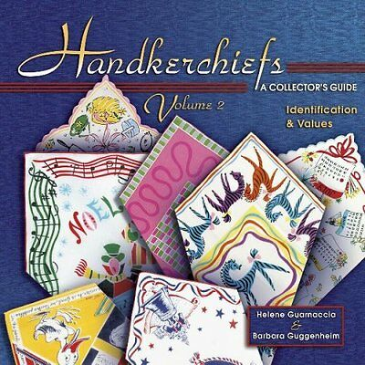 Antique Handkerchiefs $$$ Price Value Guide hankies COLLECTOR BOOK