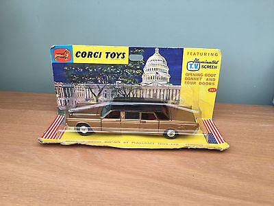 Corgi Toys 262 Lincoln Continental with Lehmann Peterson Bodywork.