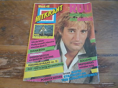 Hitkrant 1981: Rod Stewart / Diana Ross / Rolling Stones / Pointer Sisters
