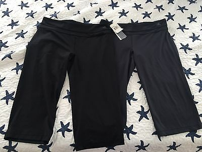 NWT WOMENS ADIDAS WORK OUT YOGA CLIMALITE LEGGINGS PANTS L LARGE LOT Training