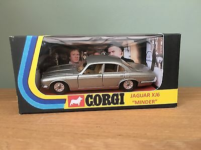 Minder Arthur Daley Jaguar XJ6 Code 3 Not Dinky Or Corgi