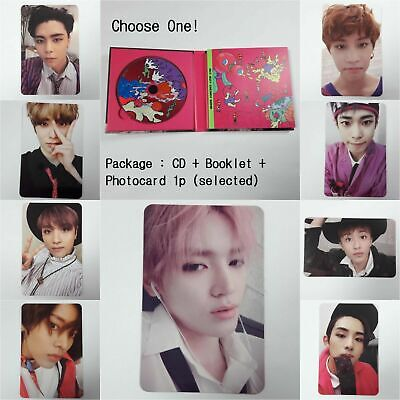 NCT 127 3rd Mini album Cherry Bomb CD Booklet selected photocard 1p K-POP NCT127