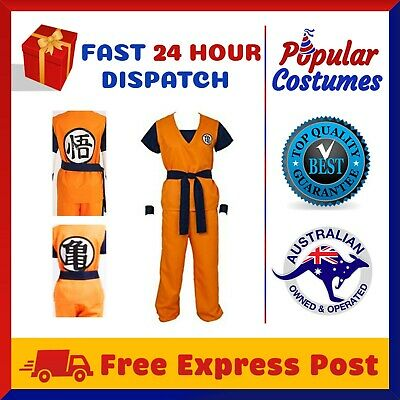 Dragon Ball Z Goku Dragonball Z Gohan Cosplay Halloween Womens Mens Costume