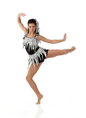 Haunted Dance Costume Camisole Biketard Jazz Tap Acro Clearance Child Small