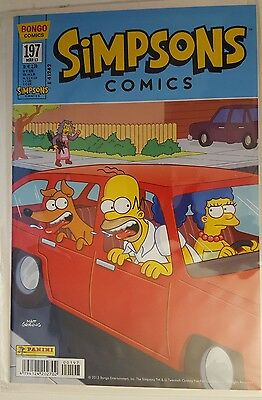 Simpsons Comics Nr. 197, NEU, Zustand 0 / mint, 2013, bagged and boarded !