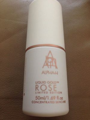ALPHA H LIQUID GOLD ROSE 50ml LIMITED EDITION BN ***FAST DESPATCH***