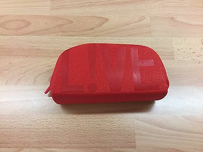 Lacoste Live Red  Zipped Sunglasses Case