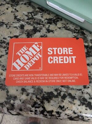 Home Depot Store Credit $190.93
