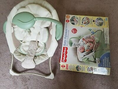 Bouncer Baby Fisher Price Seat Infant Used Deluxe Comfort Little Rocker Chair
