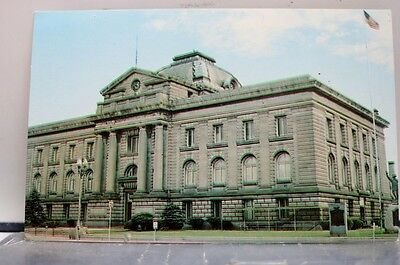 Indiana IN Peru Miami County Court House Postcard Old Vintage Card View Standard
