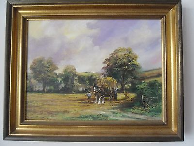 Alan  King     Signed  Oil Painting  & Certificate