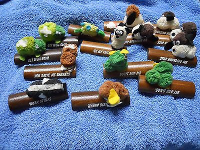 Vintage The Great American Dream Co. BUMPS ON A LOG Lot of 14