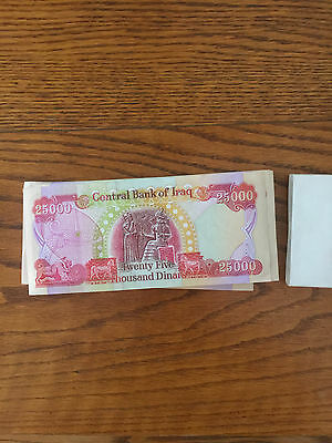 40 25K Dinar Note 1,000,000 IQD New Uncirculated