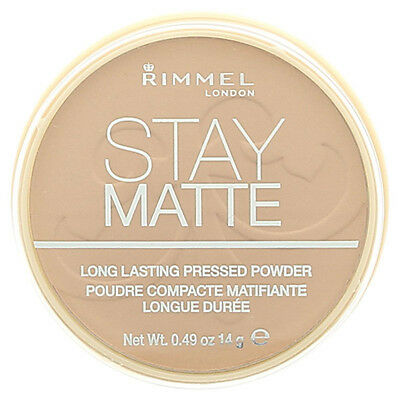 RIMMEL Stay Matte Long lasting Pressed Powder New --Choose shade---