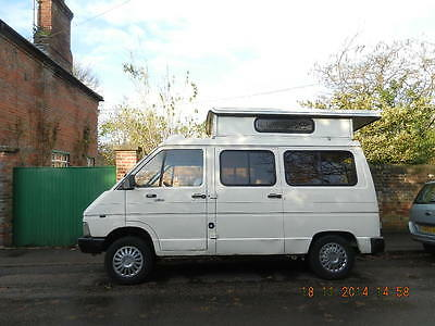 Renault traffic camper spares repair or  donor vehicle, rising roof autosleeper?