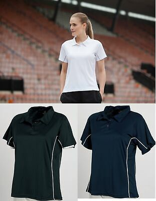 Tombo Teamsport Ladies Women's Performance Wicking Polo Shirt TL068