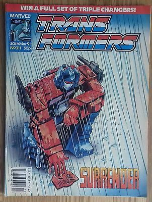 Transformers UK Comic Issue 311