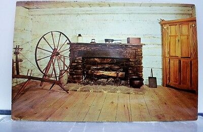 Indiana IN Lincoln Fireside Postcard Old Vintage Card View Standard Souvenir PC