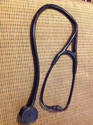 3M Littmann Cardiology III Stethoscope Black Chestpiece and Ear-tubes Hose Read