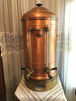Vintage Antique Hotel  Copper Coffee Urn! Free Delivery Within 125Miles Of61021