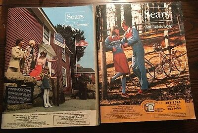 Sears 1976 Spring Summer& Fall Winter Catalog Fashion Design 1395 & 1527 Pages