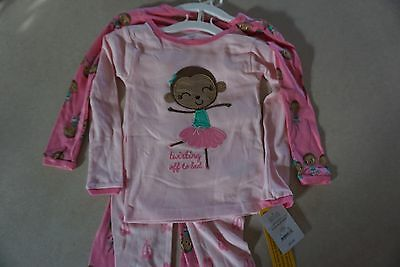 4 pc. Just One You Toddler Girl pajama Set Size 3T
