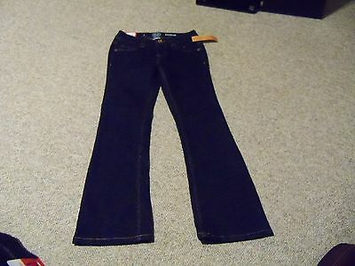 Girls size 7  SO bootcut jeans new with tag adjustable waistband stretch
