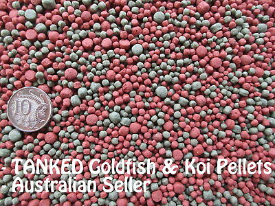 Goldfish & Koi 2/4/6mm Floating -(500g - 60kg) Fish Food Pellets - Aquarium Pond
