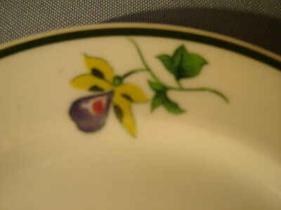 "Vintage Shenango China Flowers Pattern 5 1/2"" Plate"