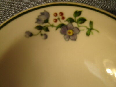 Vintage Shenango China Flowers Pattern Small Oval Bowl
