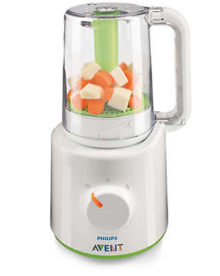 NEW Philips Avent Combined Steamer Blender