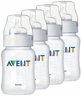NEW Philips Avent Bottle BPA Free (PP) 260 ml (4 Pack)