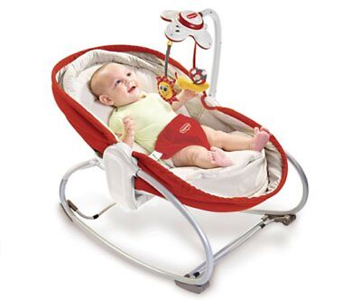 NEW Tiny Love 3-in-1 Rocker Napper Red