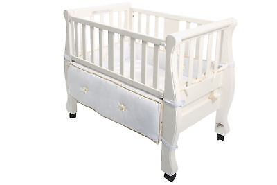 NEW Arm's Reach Sleigh Bed Co-Sleeper - White