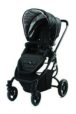 NEW Valco SNAP Ultra Pram Midnight Black