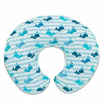 NEW Chicco Boppy Pillow Blue Whales