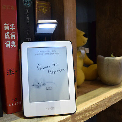 New Flexible LED Reading Light Rechargeable Clip Lamp For Amazon Kindle E-reader