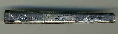 Antique Silver Needle Case with Bodkin
