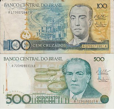 coins paper money Brasil collectibles 1939 - 1995