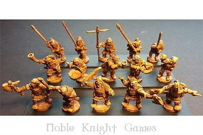 Battle Val Orcians 15mm Orcian Command Officers, Standards, and Music Pack MINT