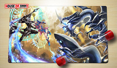 Yugioh Playmat Custom Made Play Mat Large Mouse Pad FREE TUBE C075