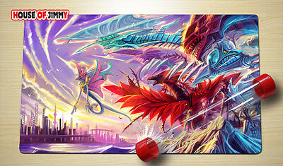 Yugioh Playmat Custom Made Play Mat Large Mouse Pad FREE TUBE C069