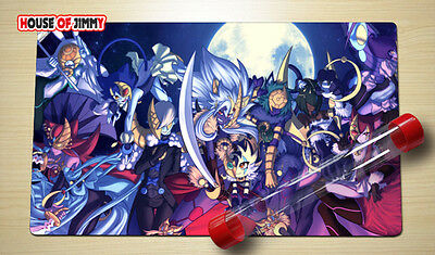 Yugioh Playmat Custom Made Play Mat Large Mouse Pad FREE TUBE C063