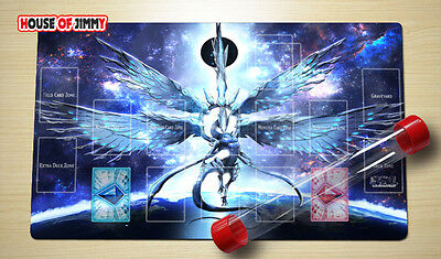 Yugioh Playmat Custom Made Play Mat Large Mouse Pad FREE TUBE C055