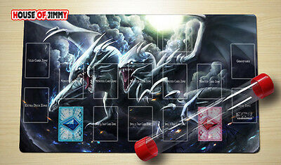 Yugioh Playmat Custom Made Play Mat Large Mouse Pad FREE TUBE C053