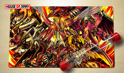 Yugioh Playmat Custom Made Play Mat Large Mouse Pad FREE TUBE C048