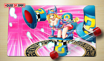 Yugioh Playmat Custom Made Play Mat Large Mouse Pad FREE TUBE C025